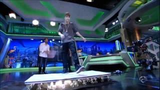 Download Lagu Justin Bieber bailando Billie Jean (Michael Jackson) (16/11/11) Mp3
