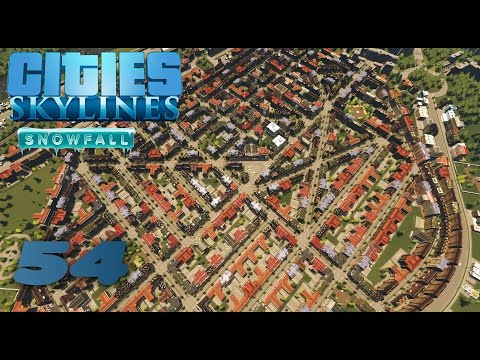 S02#054 - Berlin Friedrichshain | Lets Play Cities Skylines Snowfall | [HD, German]
