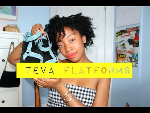 Teva Flatforms + Lookbook💖
