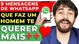 Mensagens para whatsapp - 9 mensagens DE WHATSAPP que faz UM HOMEM  te querer MAIS