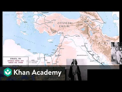 sinai palestine and mesopotamia campaigns video khan academy