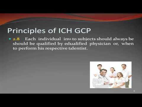 ICH-GCP Principles