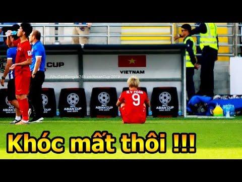 ĐT Việt Nam VS Iran khoảng khắc Công Phượng Văn Toàn Đặng Văn Lâm Quang Hải tri ân CĐV Asian Cup - Thời lượng: 3 phút, 22 giây.
