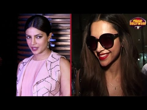Deepika Gives Priyanka Chopra's Party A Miss |