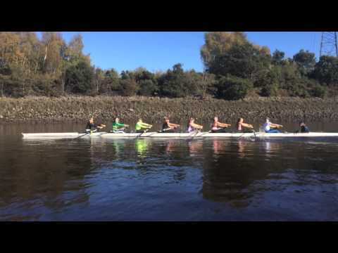 DUBC Women's Winter Training 2014 – 2015