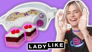 Video We Try Cooking Using The Easy Bake Oven • Ladylike MP3, 3GP, MP4, WEBM, AVI, FLV Agustus 2019