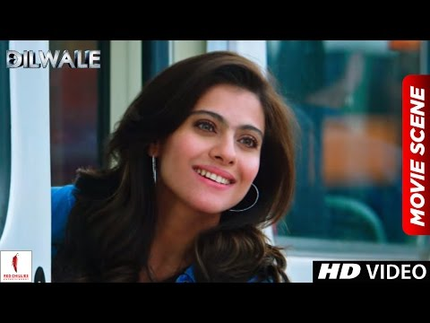 How to take a girl's number in Dilwale style | Dilwale Scenes | Shah Rukh Khan, Kajol
