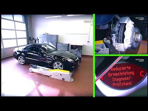 Mercedes Benz SL | SBC Bremsanlage mit Hilfe der Star Diagnosis deaktivieren