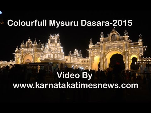 Colorful Mysuru  Dasara Procession -2015