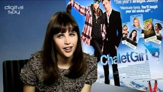 Felicity Jones chats 'Chalet Girl'