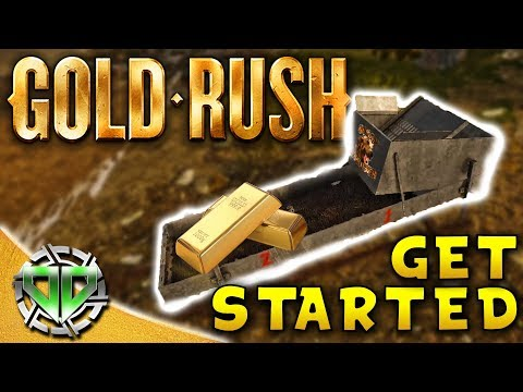 Gold Rush the Game : Getting Started!  Gold Mining Simulator! (PC Lets Play)