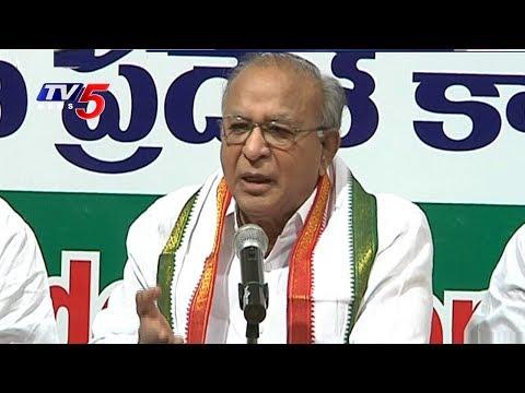 Congress Jaipal Reddy Slams CM KCR
