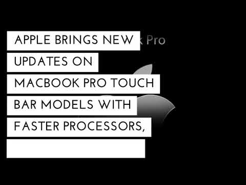 MacBook Pro latest update and features