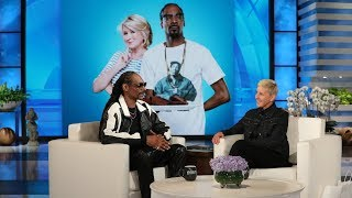 Video Snoop Dogg on Staying at Martha Stewart's House and Teaching Ellen a New Word MP3, 3GP, MP4, WEBM, AVI, FLV September 2019
