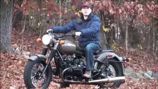 6. 2012 Ural Solo M70 Limited Edition Demonstration at Ural of New England, Boxborough MA