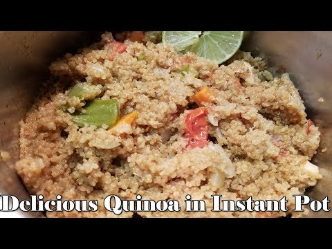Easy Vegetable Quinoa In Instant Pot | Getting Started With Your Instant Pot | Pressure Luck 101