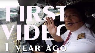 Video Cockpit View - Landing @ Changi International Airport MP3, 3GP, MP4, WEBM, AVI, FLV November 2018