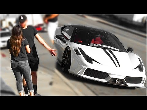 TRADING FERRARI FOR GIRLFRIEND ( Social Experiment )