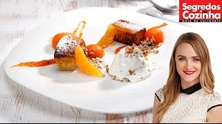 French Toast with Pumpkin Textures & Walnut | RECIPE
