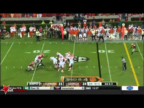 Leonard Floyd vs Clemson 2014 video.