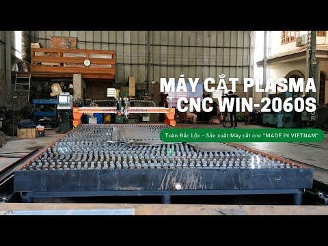 Máy cắt Plasma Win TDL-6020 sản xuất tại Cty Toàn Đắc Lộc