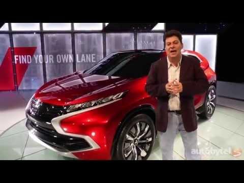LA Auto Show: Mitsubishi XR-PHEV First Look