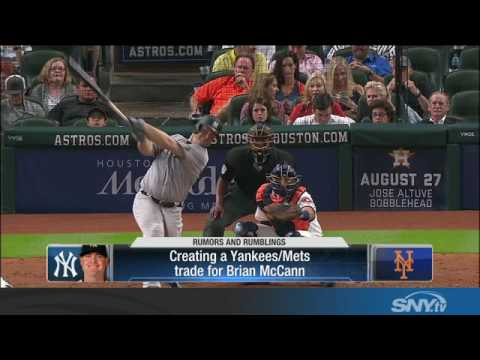 Video: Would the Yankees trade Brian McCann to the Mets?
