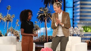 Video Young Gun Control Activist Naomi Wadler Visits Ellen MP3, 3GP, MP4, WEBM, AVI, FLV Oktober 2018