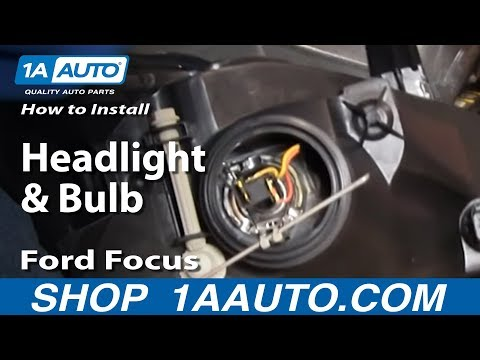 How To Install Replace Headlights and Bulbs Ford Focus 03-04 1AAuto.com