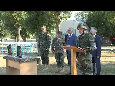 """Comandantul Suprem al Forţelor Armate a participat la exerciţiul tactic """"Cer Senin 2020"""""""