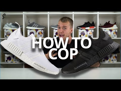 HOW TO COP adidas NMD R1 Japan BOOST Pack