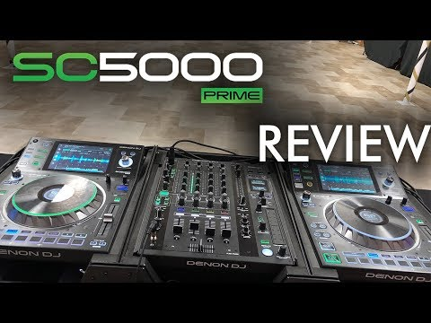 Denon Dj Sc5000 And X1800 Overview!