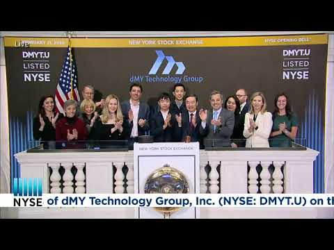 dMY Technology Group, Inc. (NYSE: DMYT.U) Rings The Opening Bell®