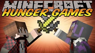 Minecraft Hunger Games w/ Mitch, Preston, Nooch,&Woofles