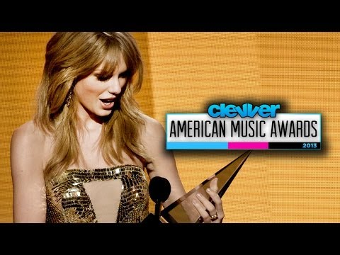 Taylor Swift AMAs Artist of the Year 2013 - Speech and Details!