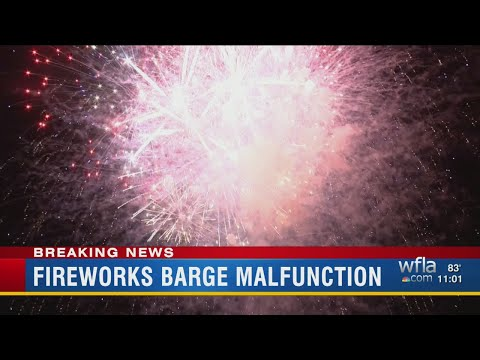 Computer system crash causes hitch in Channelside fireworks display