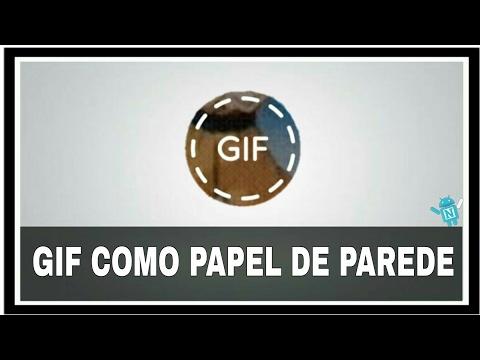Imagens de papel de parede - COMO COLOCAR UMA IMAGEM ANIMADA DE PAPEL DE PAREDE NO ANDROID!