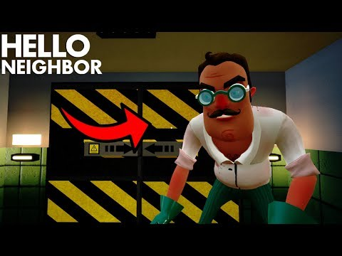 The Neighbor Is An EVIL DOCTOR!!!! | Hello Neighbor (Beta 3 Mods) (видео)