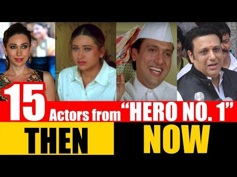 "15 Bollywood Actors from ""HERO NO. 1"" 1997 