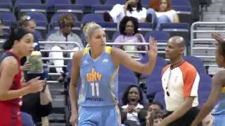 Elena Delle Donne Scores 18 Points in Win Over Mystics by WNBA
