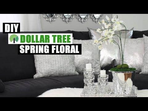 Dollar Tree Glam DIY  SPRING GLAM DECOR IDEA