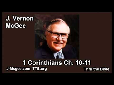 1 corinthians 10 - J-Mcgee.com TTB.org Jesus loves you! J Vernon Mcgee teaches through the whole Bible in a way that you can easily understand. This is a study in the book of 1...