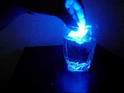 Light up Ice cubes