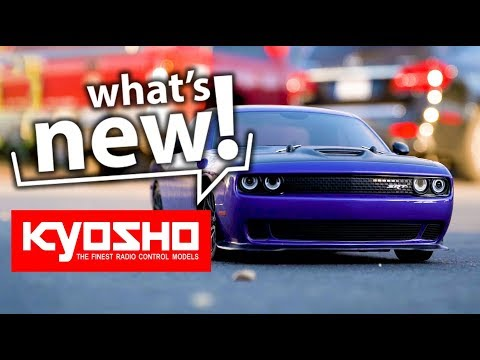 What's New: Kyosho Dodge Challenger SRT Hellcat 1/10 ReadySet