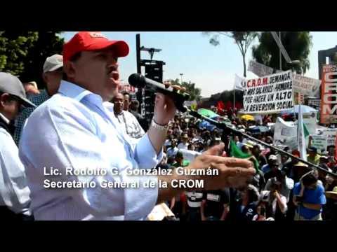 Plant�n contra la reforma a la Ley Federal del Trabajo, C�mara de Diputados , 8 noviembre 2012