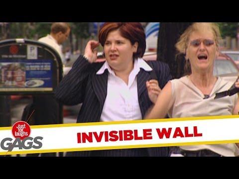 如果你在路上撞到的隱形的牆,你要怎麼躲過去阿?