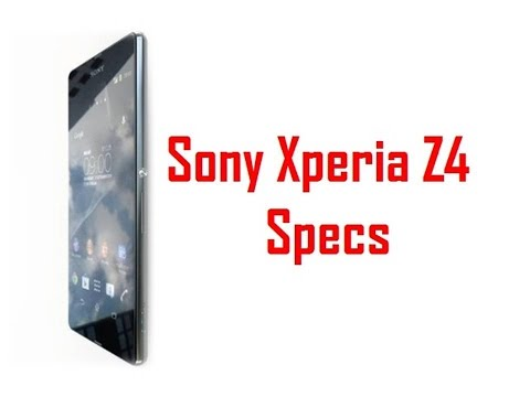Sony Xperia Z4 Specs & Features