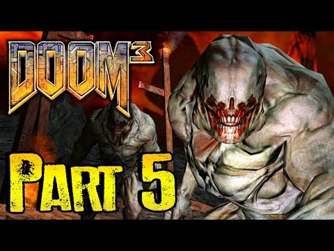 DOOM 3 Gameplay Walkthrough BFG EDITION Part 5 - POOP TELEPORTATION