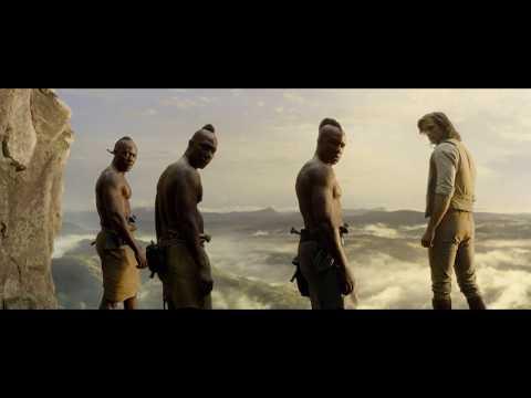 The Legend Of Tarzan 2016(movie scene) - Catching the slave train scene