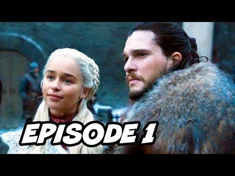 Game Of Thrones Season 8 Episode 1 Opening Scene Teaser Breakdown